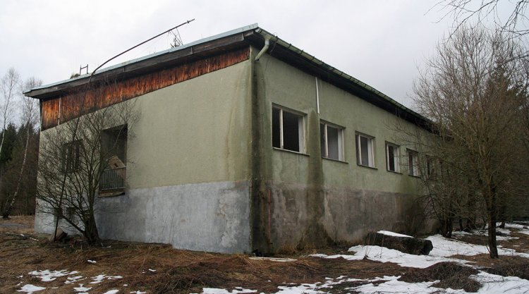 Budova od jihu