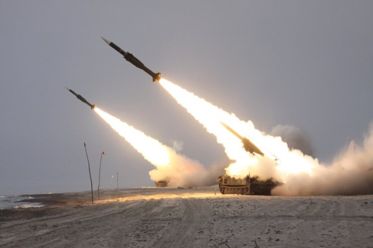 Ostrý start dvojice střel 3M9, foto Jan Kouba - OKaP MO