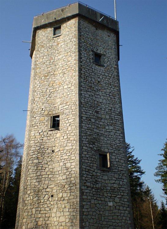 Studený vrch - věž