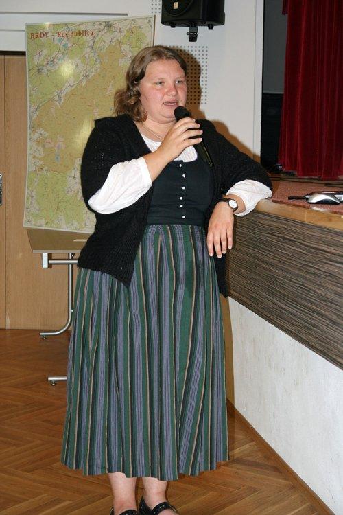 Mgr. Jana Bělová - Litinové drobné architektury ve VÚ Brdy a související tématika