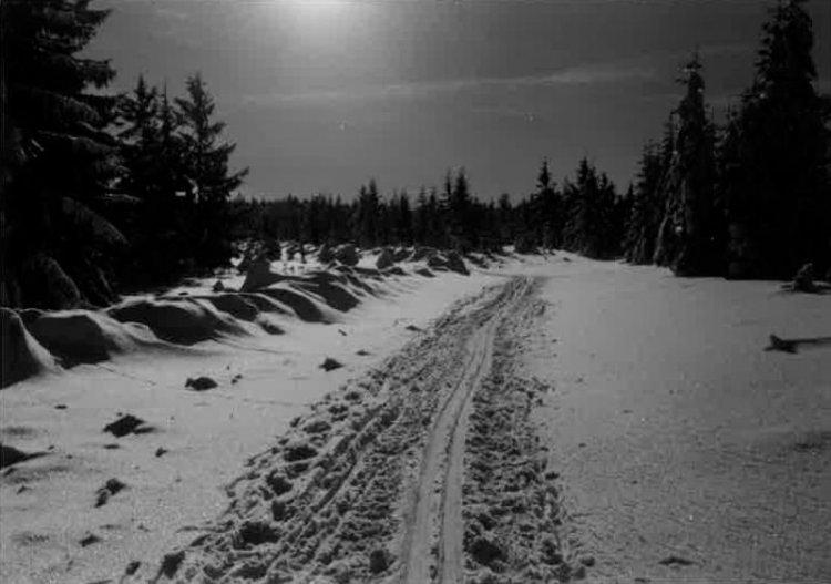 neuvěřitelná noční lyžařská magistrála