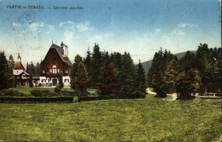 Lovecký zámeček Tři Trubky 1916