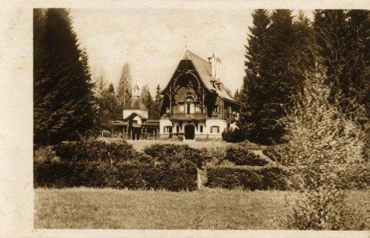 Lovecký zámeček Tři Trubky 1928