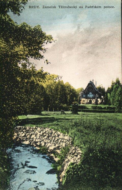Lovecký zámeček Tři Trubky 1925