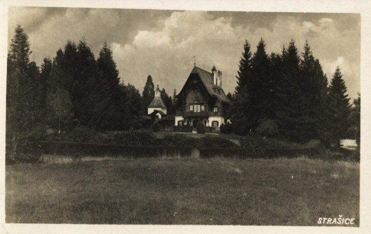 Lovecký zámeček Tři Trubky 1935