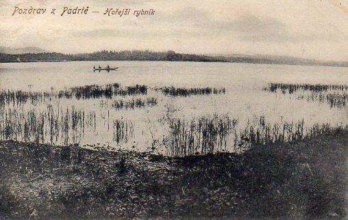 Hořejší Padrťský rybník 1910