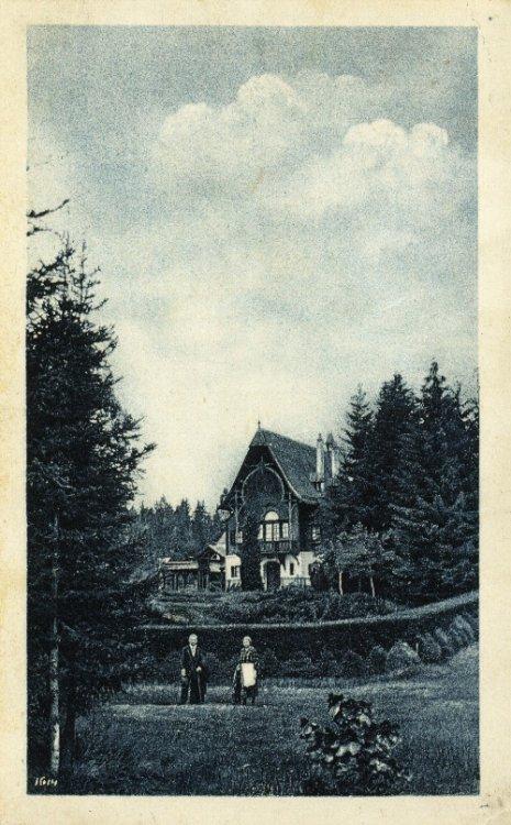 Lovecký zámeček Tři Trubky 1924
