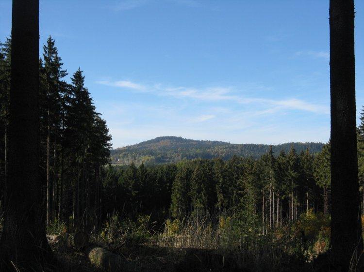 Třemšín z Petráčkovy hory