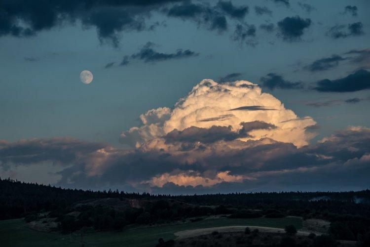 obloha nad Zejačovem - srpen 2018