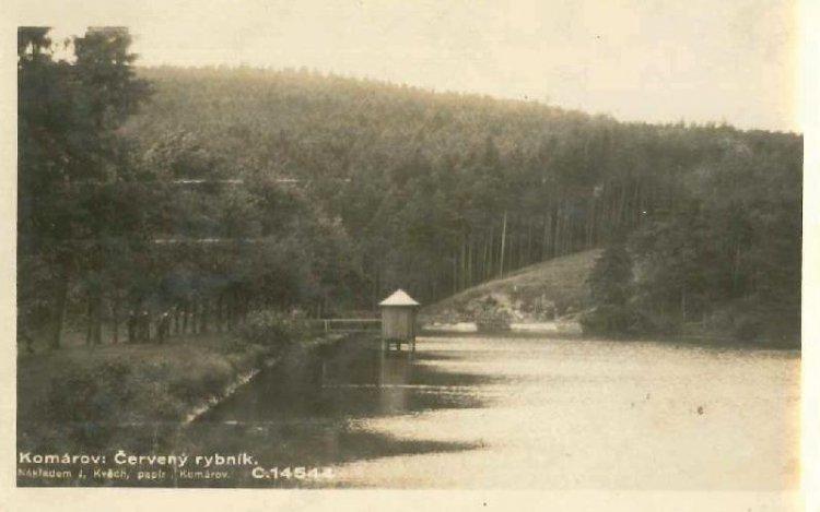 Červený rybník 1933