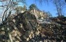skalnatý hřeben Babky