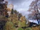 hrad Žebrák - pohled obléhatele