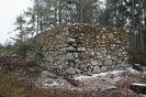 Ochranná zeď postavení radiolokátoru Freya EGON