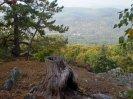 Ostrý a Jakubské údolí z Plešivce