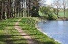 Hráz rybníka Tisý