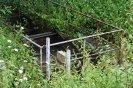 Čistírna odpadních vod v nejníže položené části areálu