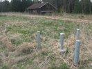 jeden z radarových vrtů na Kuťkovské louce
