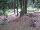 hráz Hořejšího rybníka 2014